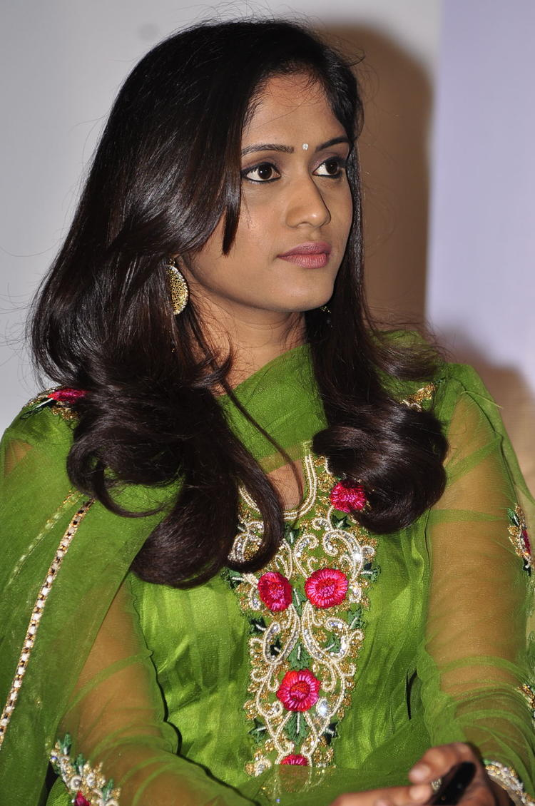 Actress Photo Clicked At Memiddaram Preminchukunnam Movie Audio Launch