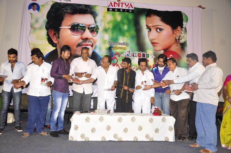Tammareddy With Cast At Memiddaram Preminchukunnam Movie Audio Launch