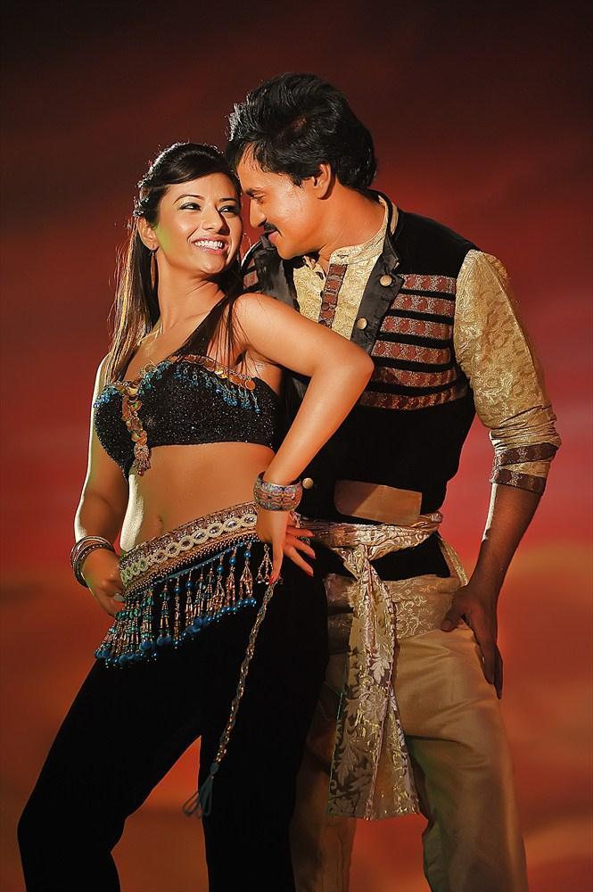 Sunil And Isha Romance Still From Movie Mr Pellikoduku