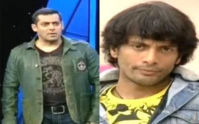 Salman Khan And Akashdeep Saighal Nice Still