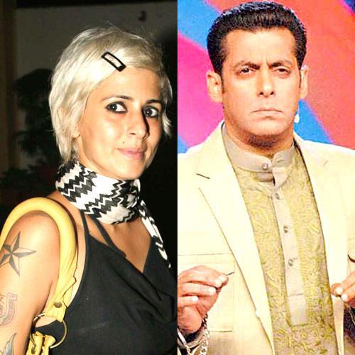 Salman Khan And Sapna Bhavnani Good Looking Still