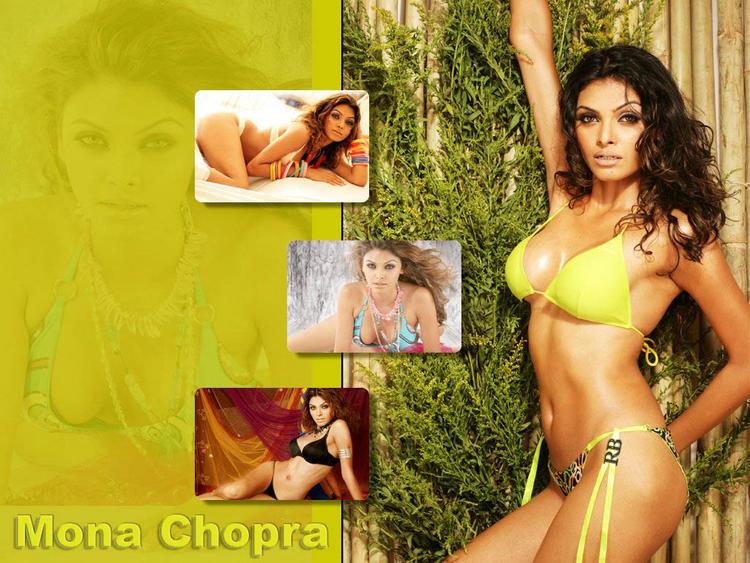 Mona Chopra Latest Shcking Wallpaper