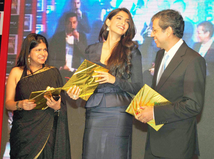 Sonam Kapoor Unveils BBC Knowledge Magazine