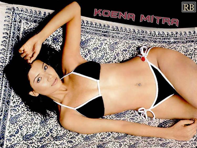 Bikini Babe Koena Mitra Wallpaper