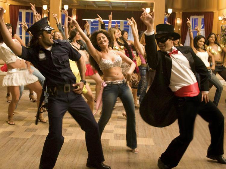 Riya Sen Sexy Dancing Pic