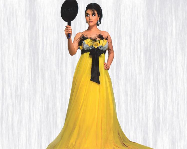 Preity Zinta In Amazing Gown Still