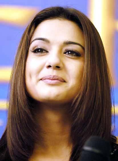 Preity Zinta Cute Close Up Pic