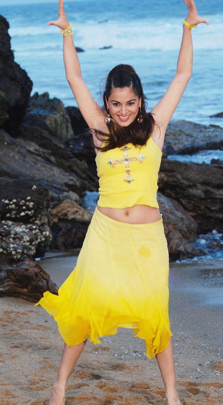 Shraddha Arya Standing On The Beach