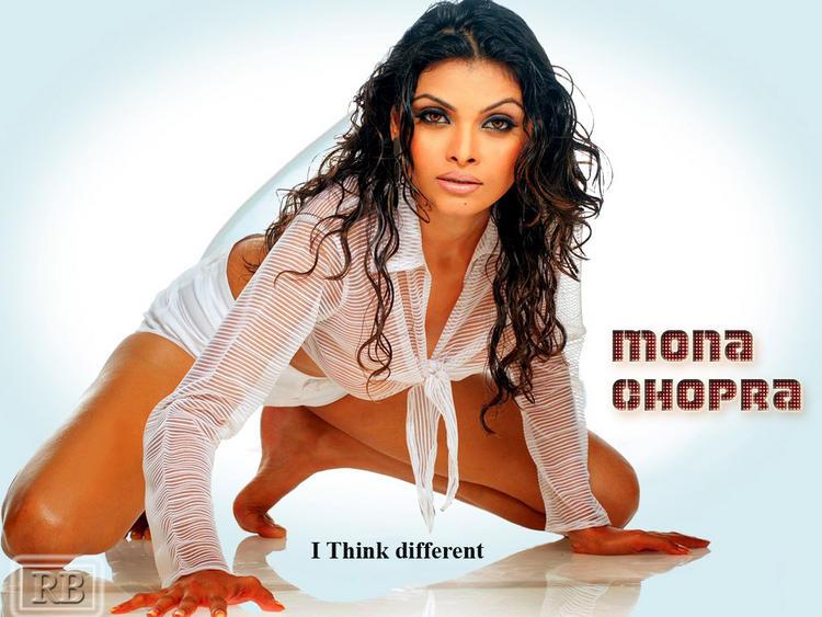 Mona Chopra Hot Killer Look Wallpaper