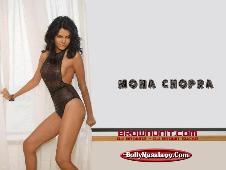 Mona Chopra Latest Hot Dressing Wallpaper