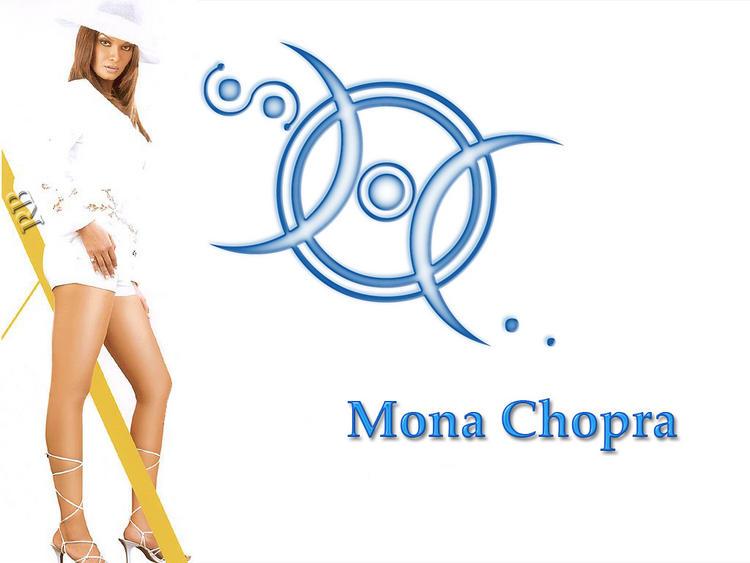 Mona Chopra Milky Legs Pic Wallpaper