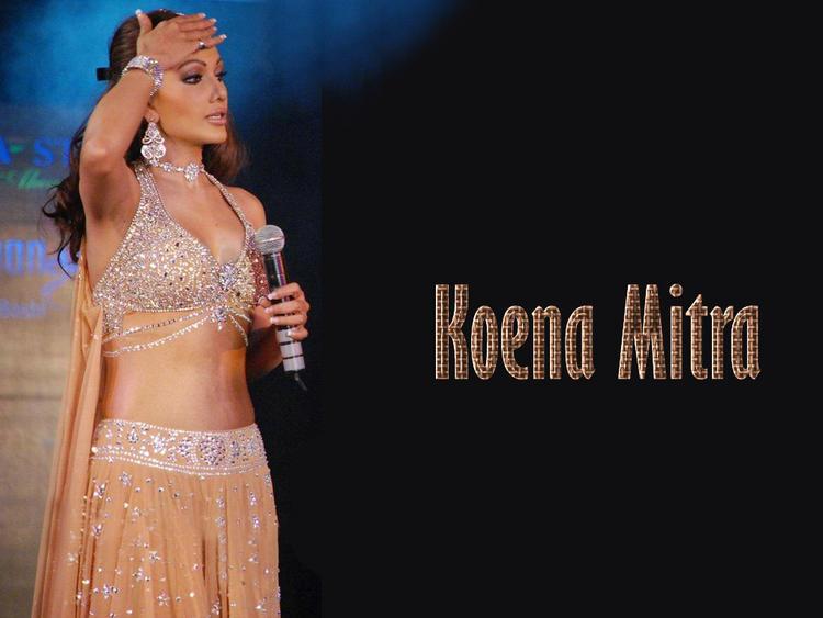Koena Mitra Gorgeous Dress Hot Wallpaper