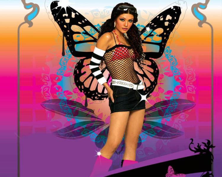 Koena Mitra Hot Dressing Wallpaper