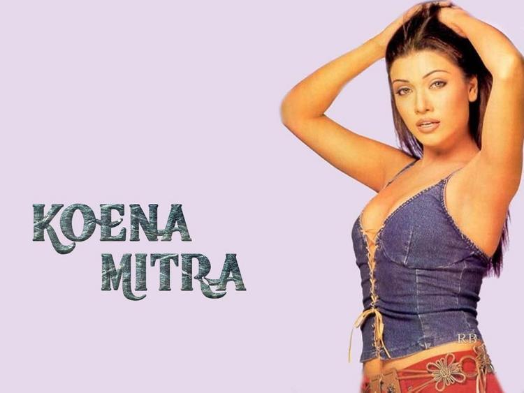 Koena Mitra Hot Sizzling Wallpaper