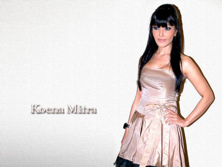 Koena Mitra Nice Hair Style Wallpaper