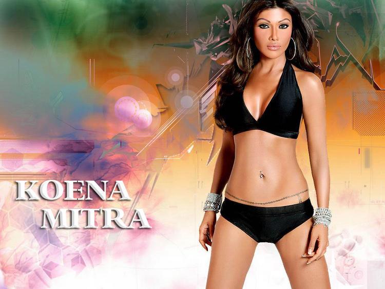 Koena Mitra Shocking Wallpaper