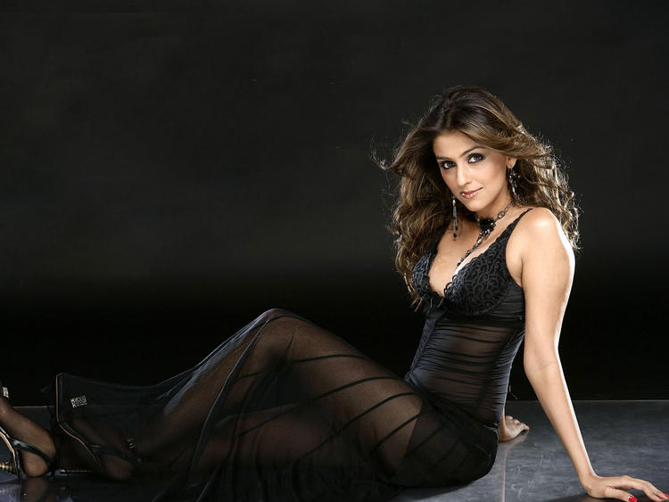 Aarti Chabria Black Dress Hot Wallpaper
