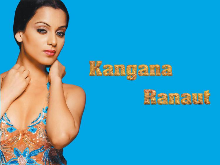 Glam Babe Kangana Ranaut Wallpaper