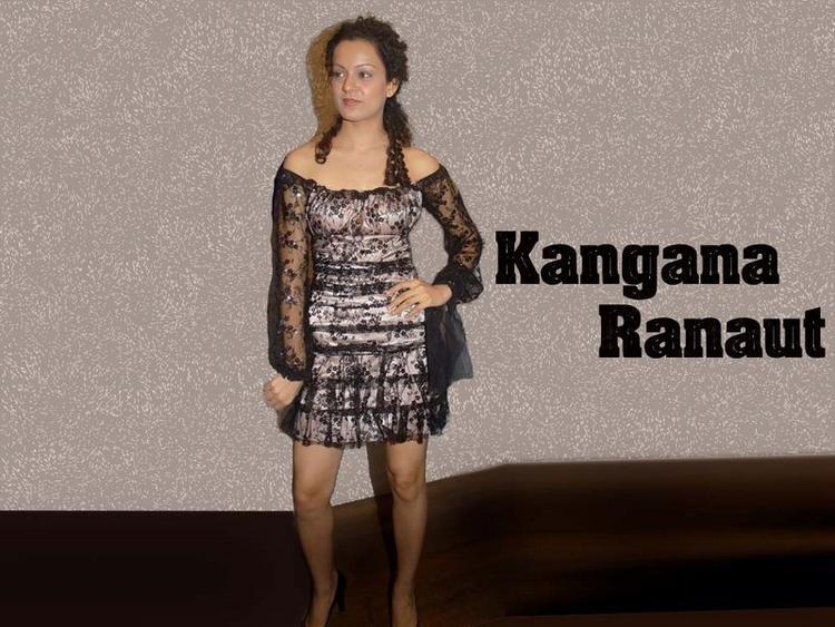 Kangana Ranaut Cute Dressing Wallpaper