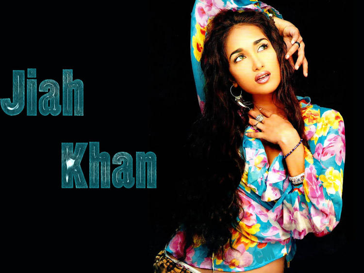 Gorgeous Beauty Jiah Khan Wallpaper