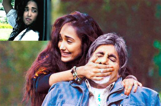 Jiah Khan and Amitabh Latest Still