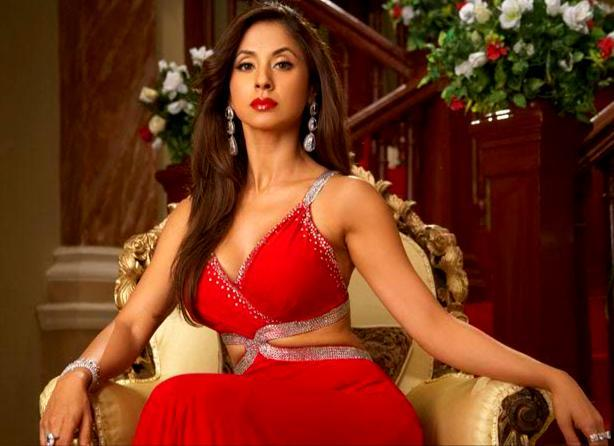 Hot Urmila Matondkar In Red Dress Awesome Still