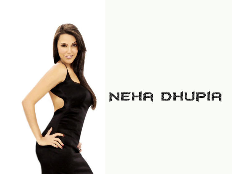 Neha Dhupia Bold And Spicy Look Wallpaper