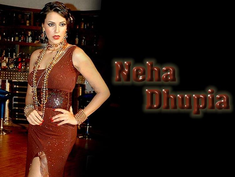 Neha Dhupia Hot Wallpaper