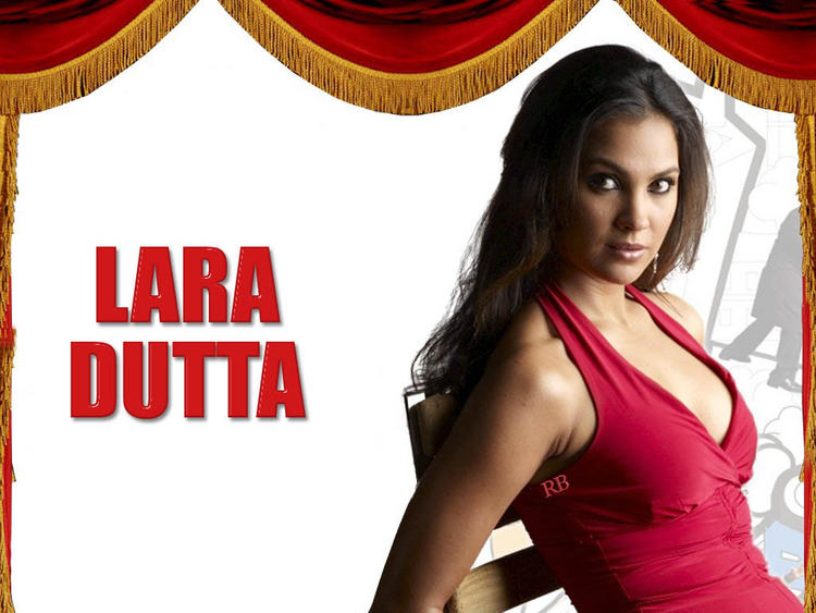 Beautiful Lara Dutta Sexy Wallpaper