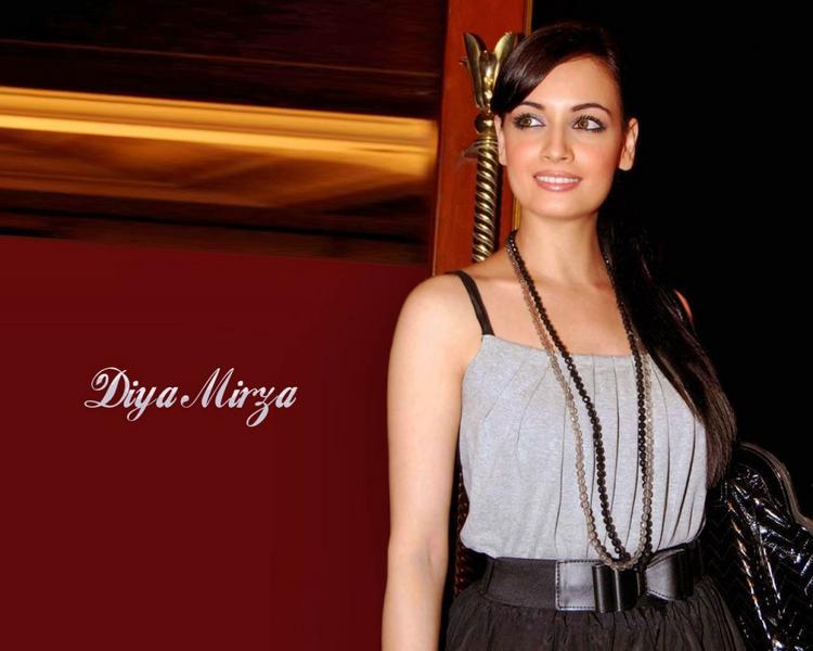 Bold Babe Diya Mirza Hot Wallpaper