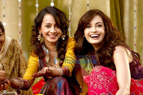 Diya Mirza Smiling Face In Love Breakups Zindagi
