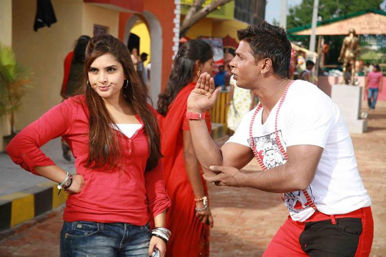 Johny Mera Naam Ramya and Vijay Cute Still