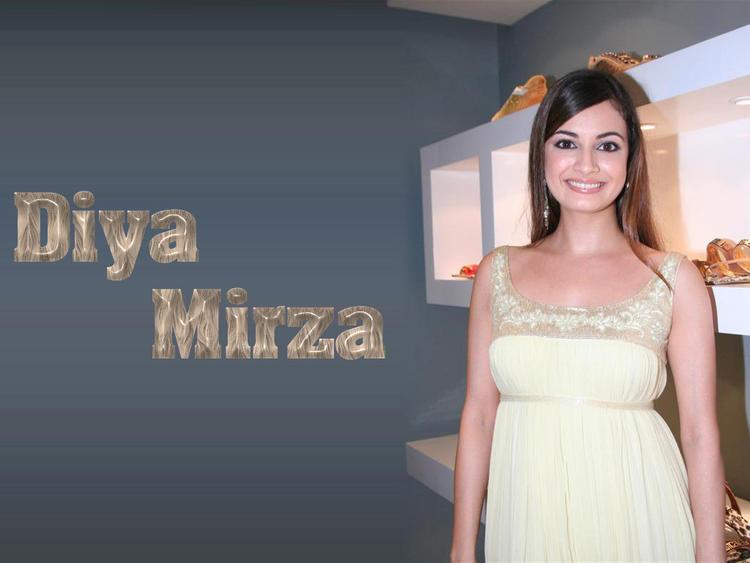 Dazzling Diya Mirza Wallpaper