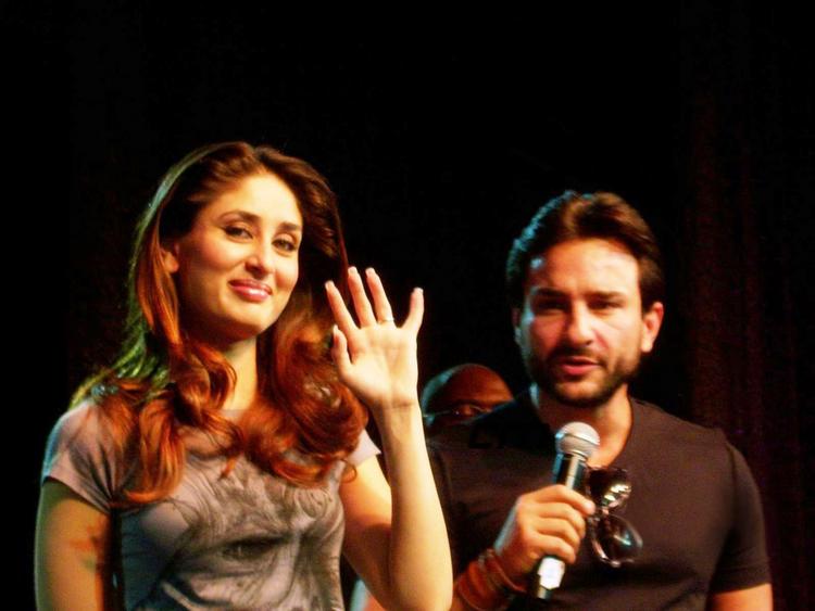Kareena Kapoor and Saif Ali Khan Public Photo