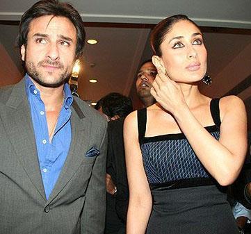 Saif Ali Khan and Kareena Hot Photo