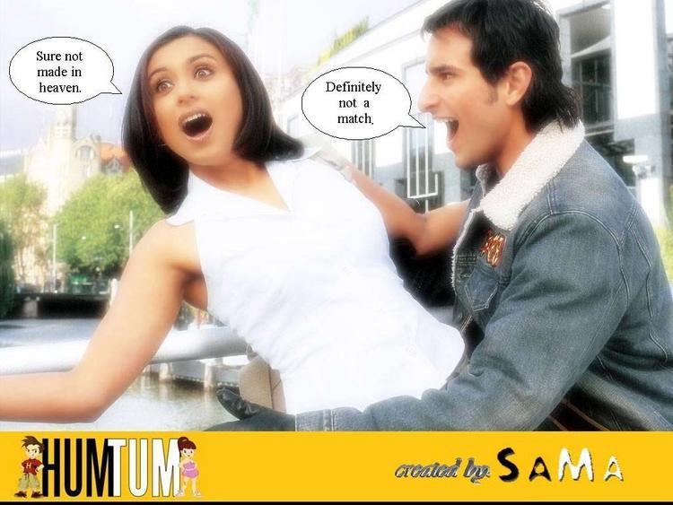Saif and Rani Cute Still in Hum Tum