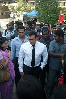Salman Bodyguard Movie On Location Pic