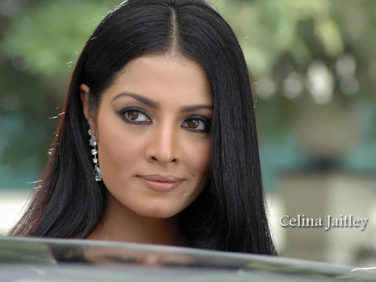 Celina Jaitley Cat Eyes Look Still