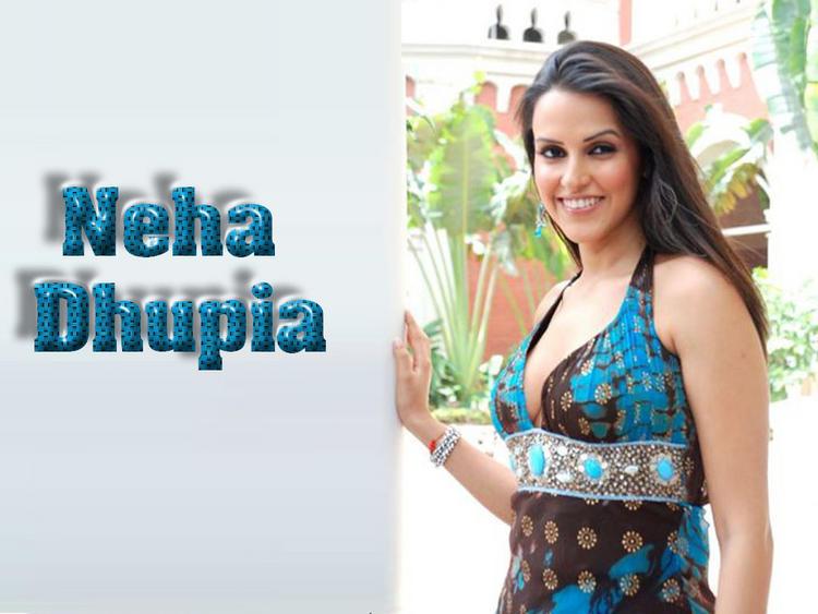 Neha Dhupia Fairy Look Wallpaper