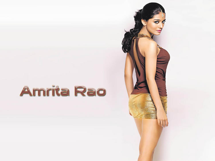 Hot Amrita Rao Wallpaper