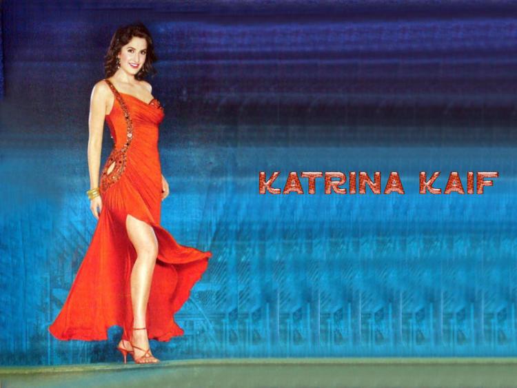 Katrina Kaif Sexy Legs Pose Wallpaper