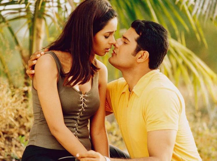 Mallika Sherawat And Himanshu Malik Hot In Khwahish Movie