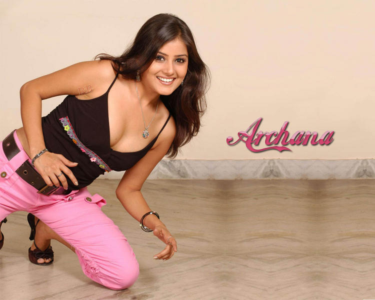 Archana Bold And Cute Smiling Wallpaper