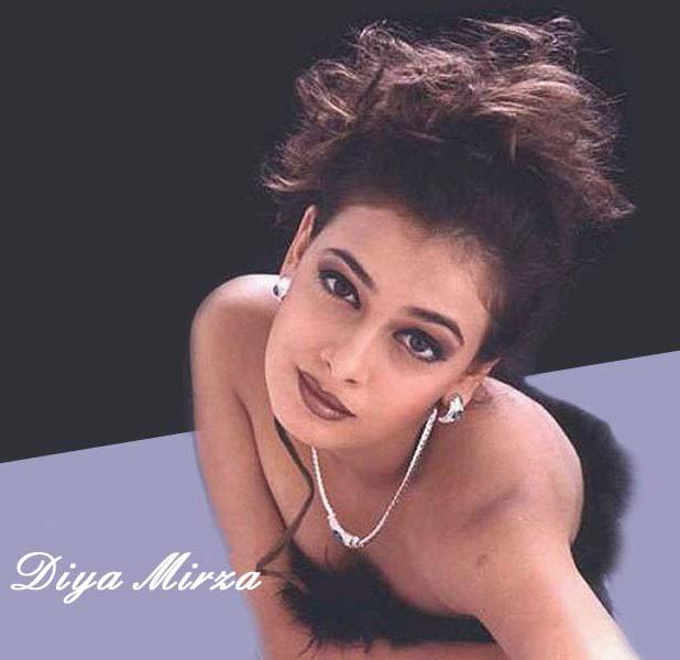 Diya Mirza Rock Hair Style Pic