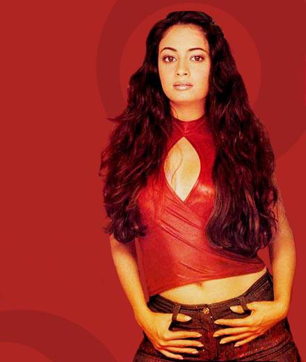 Diya Mirza Sexy Pose Wallpaper