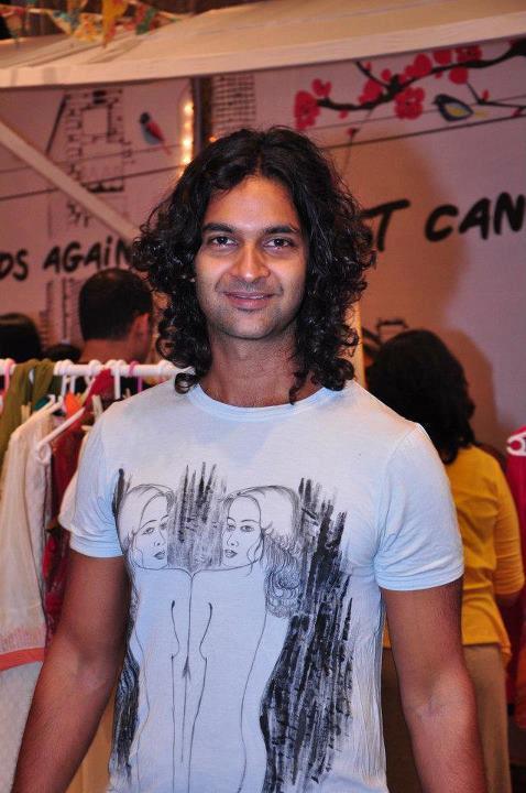 Purab Kohli at Elle Breast Cancer Carnival