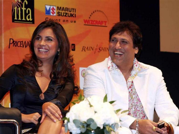 Lara Dutta with Govinda