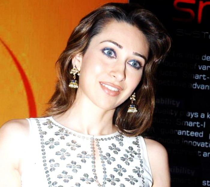 Karishma Kapoor Blue Eyes Look Hot Still