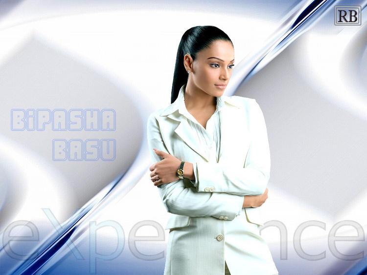 Bipasha Basu Hot Wallpaper With White Blazer