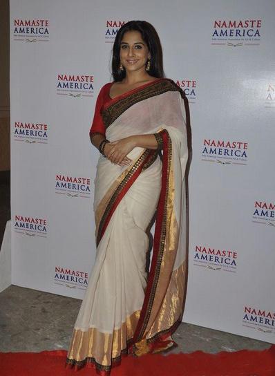 Vidya Balan At Namaste America Launch Event